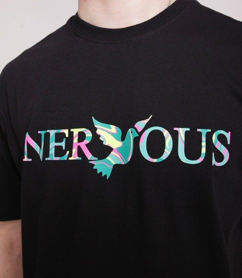 Nervous CLASSIC ACID T-Shirt Czarny