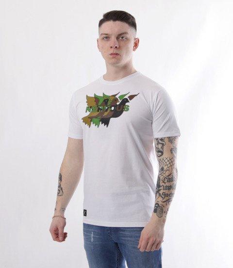 Nervous-Camo SS19 T-shirt Biały