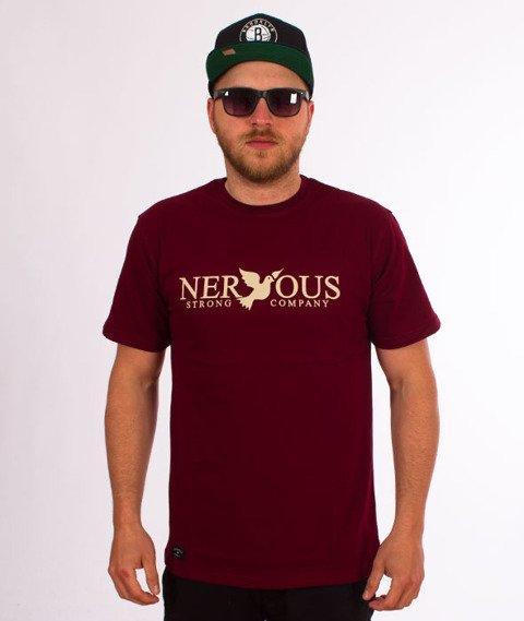 Nervous-Classic Sp18 T-shirt Maroon