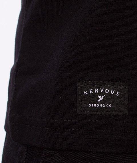 Nervous-Club T-Shirt Czarny