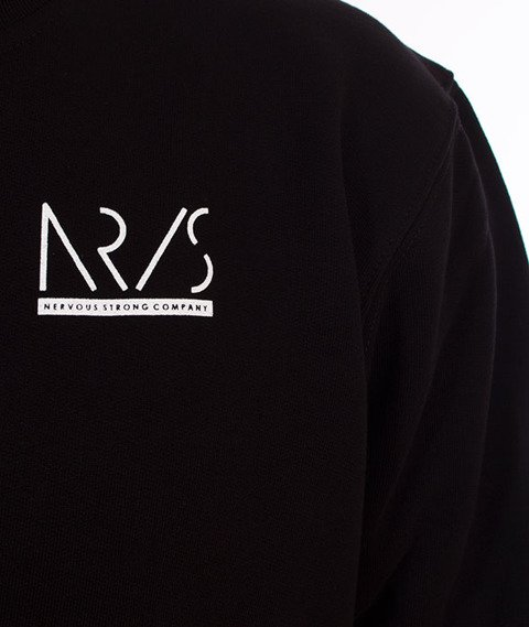Nervous-Crewneck Sp18 Incomplete Bluza Black