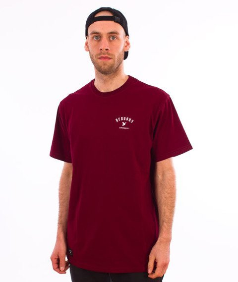 Nervous-LTD T-shirt Maroon