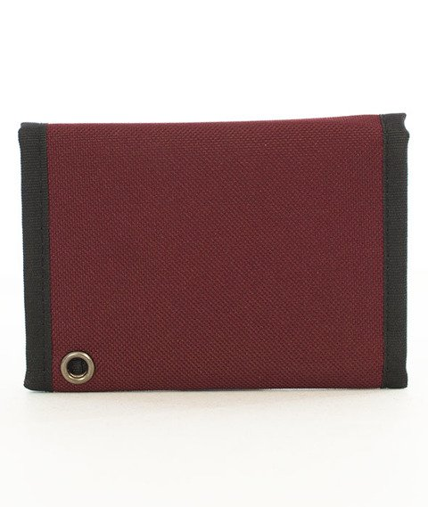 Nervous-Patch FA18 Portfel Maroon