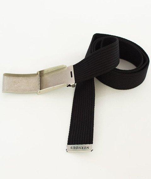 Nervous-Shop Pasek Black/Silver