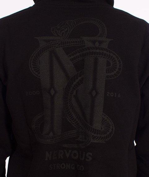 Nervous-Snake Bluza Kaptur Zip Czarna