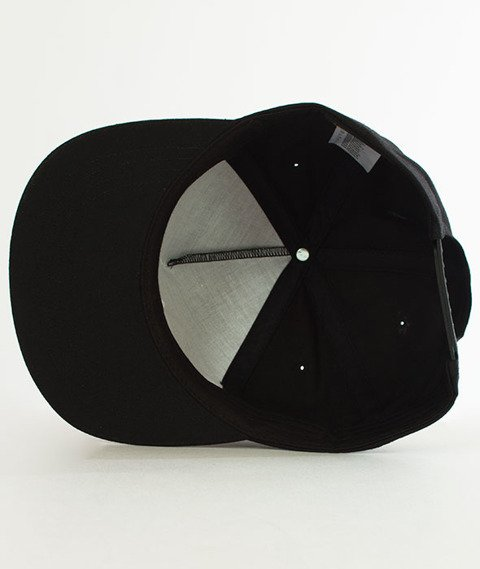 Nervous-Unstructed Su18 Incomplete Snapback Black