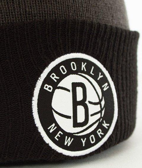 New Era-Brooklyn Nets Czapka Zimowa Grafitowa