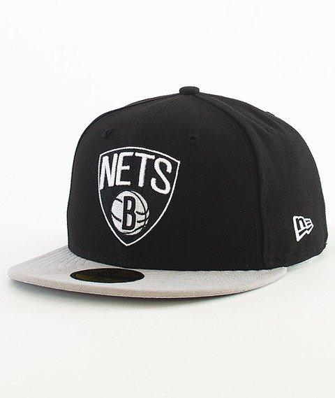 New Era-NBA Basic Brooklyn Nets Cap Black/Grey