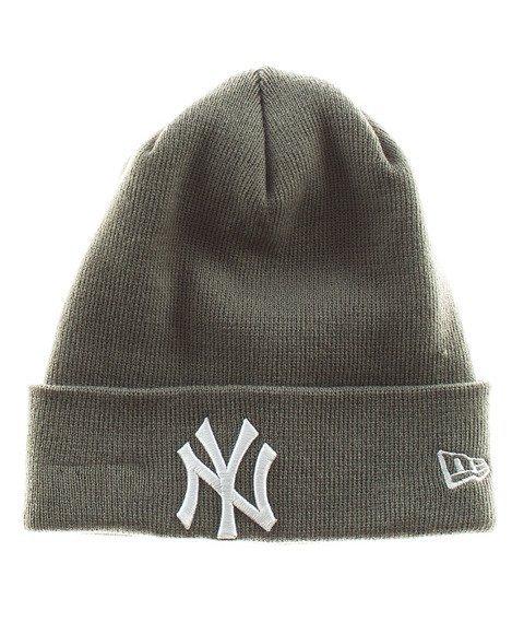 New Era-NY Yankees Essential Cuff Czapka Zimowa Szara