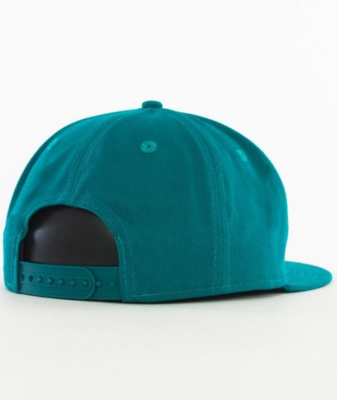 New Era-Patch Snapback Turkusowy