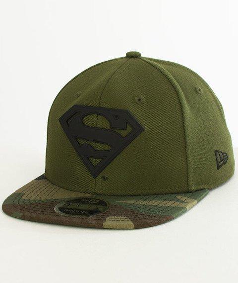 New Era-Superman Metal Snapback Green Camo