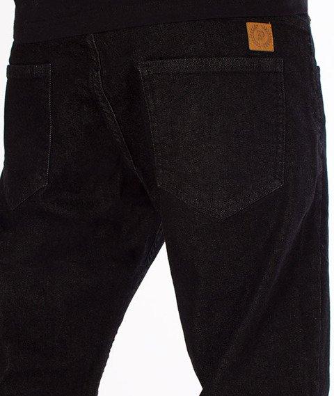 Patriotic-Basic Spodnie Jeansowe Czarne