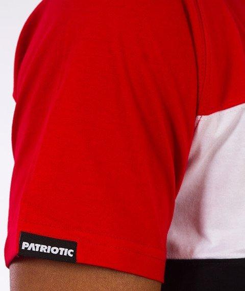 Patriotic-Box T-shirt Czarny/Czerwony/Biały