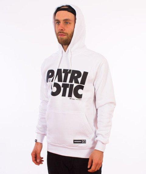 Patriotic-CLS Bluza Kaptur Biała