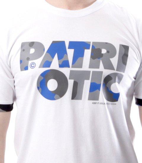 Patriotic-CLS Camo T-shirt Biały
