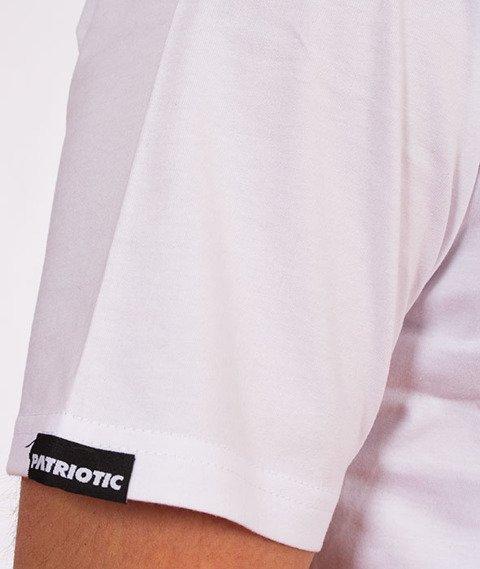 Patriotic-CLS Cut Line T-shirt Biały