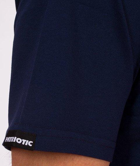 Patriotic-CLS Cut Line T-shirt Granatowy