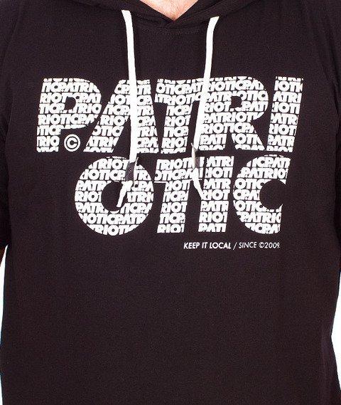 Patriotic-CLS Kaptur T-shirt Czarny