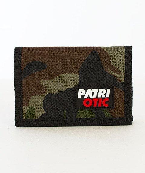 Patriotic-CLS Portfel Woodland Camo