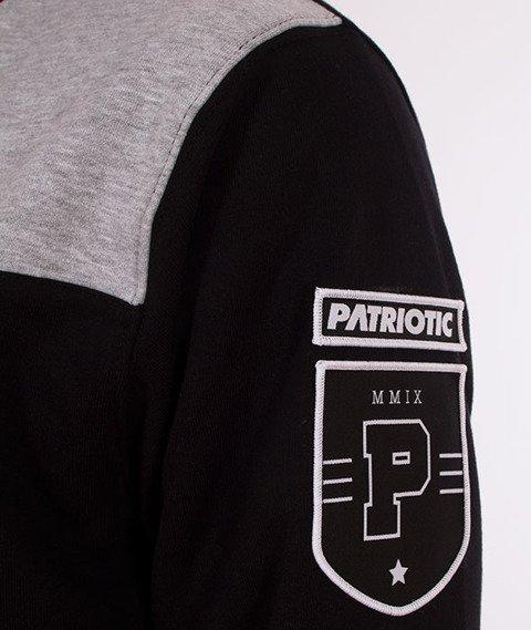 Patriotic-CLS Shoulder Shade BKL Bluza Czarna/Melanż