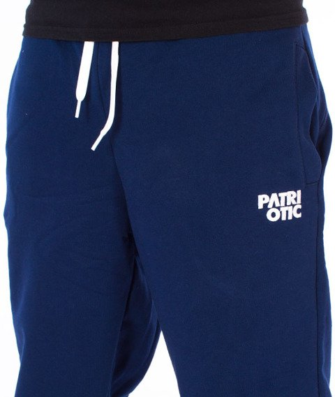 Patriotic-CLS Spodnie Dresowe Granatowe