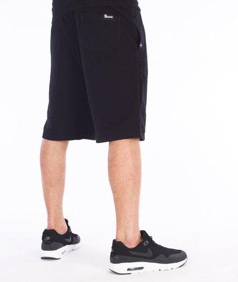 Patriotic-CLS Spodnie Krótkie Dresowe Czarne