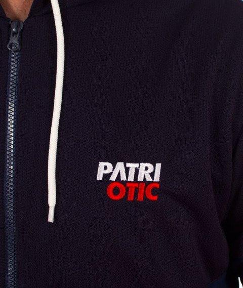 Patriotic-CLS ZIP Bluza Kaptur Rozpinana Granatowa