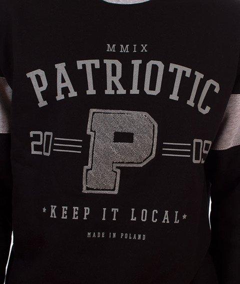 Patriotic-College Bluza Czarna/Szara