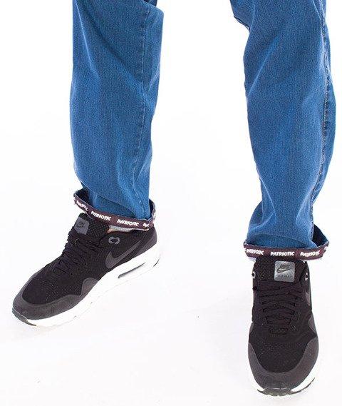 Patriotic-D1 Laur Pelt Spodnie Jeansowe Jasny Niebieski