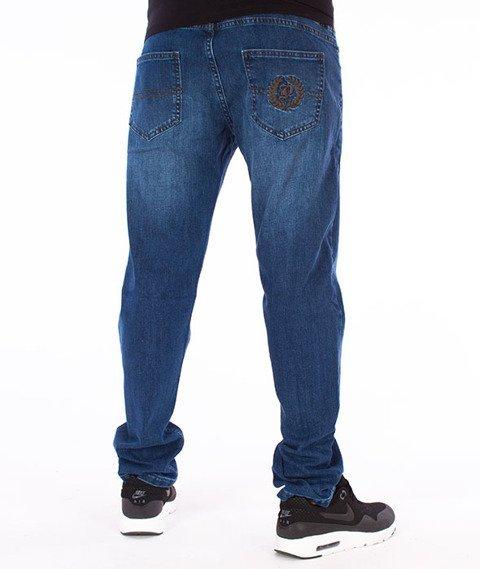 Patriotic-D1 Spodnie Jeans Niebieski
