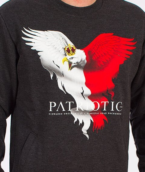 Patriotic-Eagle New Bluza Grafitowa