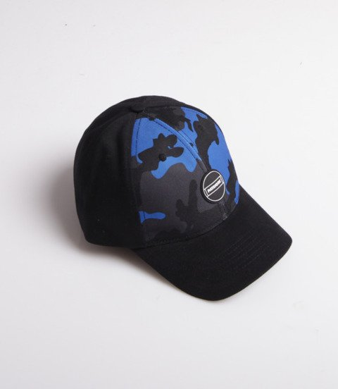 Patriotic F-Circle Baseball Czapka Czarny/Moro Blue