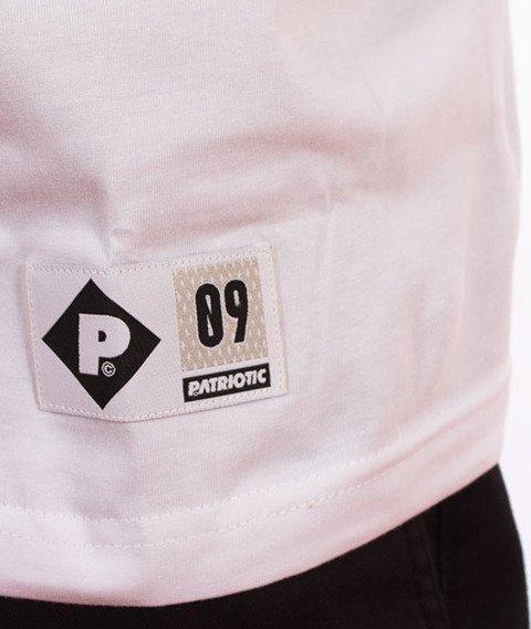 Patriotic-FF Box T-shirt Biały