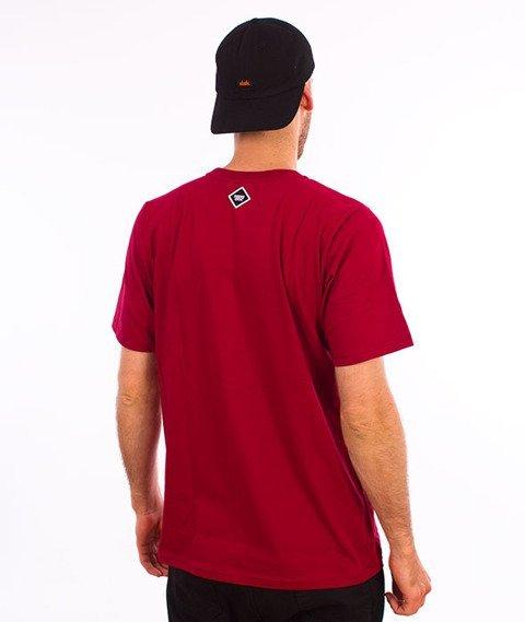 Patriotic-Futura Mini T-Shirt Bordo