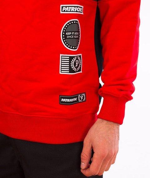Patriotic-Futura Patch BKL Bluza Czarny/Grafit/Czerwony