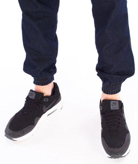 Patriotic-Futura Pelt Spodnie Jeansowe Jogger Ciemny Niebieski