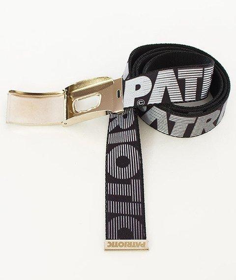 Patriotic-Futura Shade Pasek Czarny/Srebrny