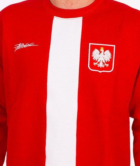 Patriotic-Godło Tag Bluza Czerwona