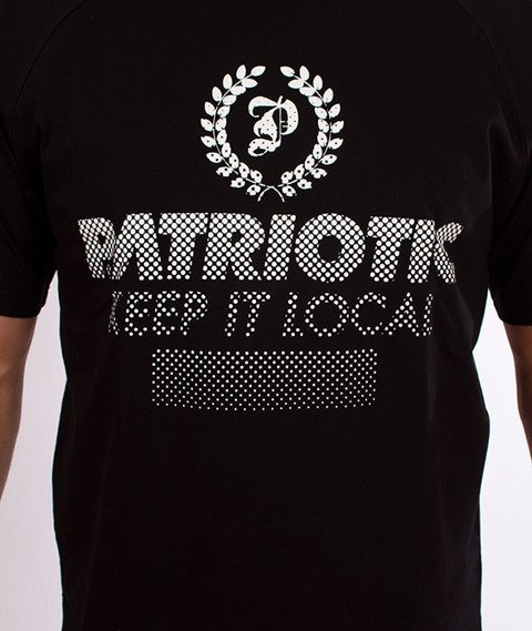 Patriotic-Half Laur T-shirt Czarny