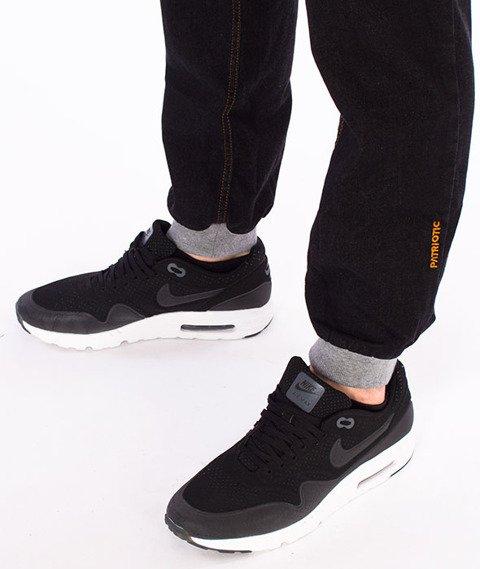 Patriotic-Jogger Jeans Czarny/Melanż