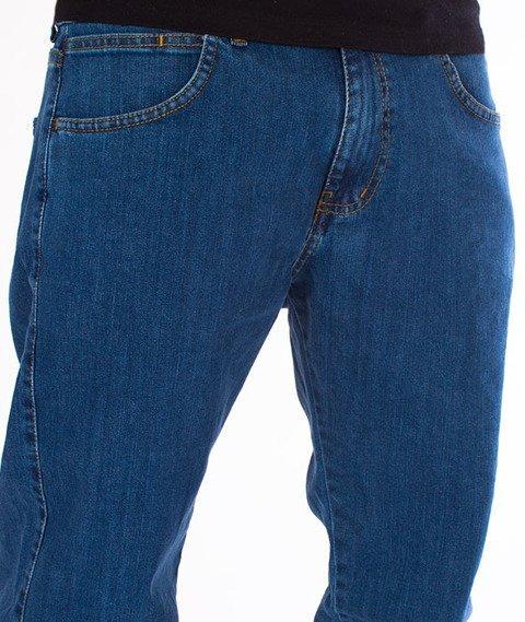 Patriotic-Jogger Jeans Spodnie Niebieskie