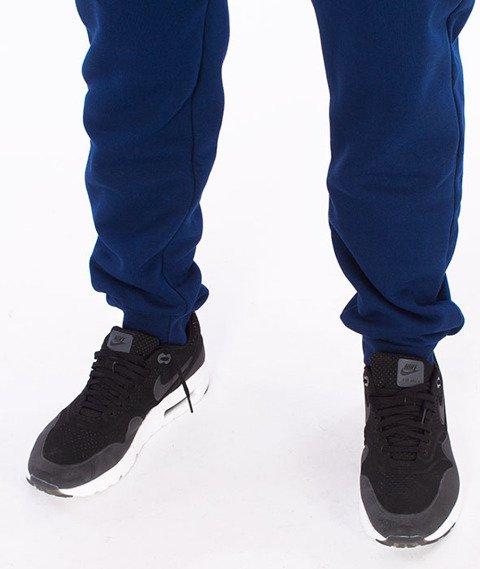 Patriotic-Laur Spodnie Dresowe Granatowe