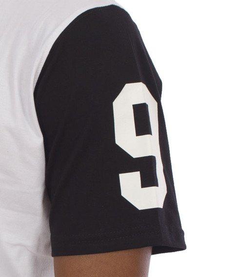 Patriotic-Laur T-Shirt z Kapturem Biały/Czarny