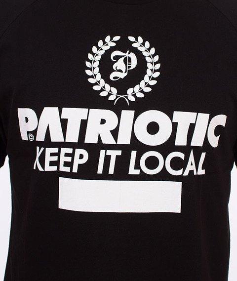 Patriotic-Laur T-shirt Czarny