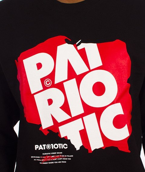 Patriotic-Map Bluza Czarna
