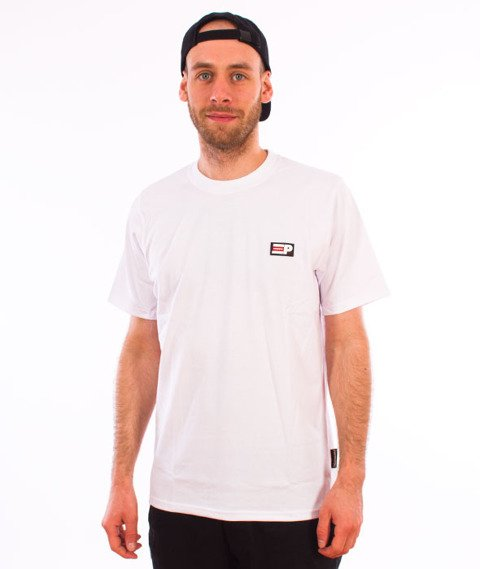 Patriotic-P Flag APL T-shirt Biały