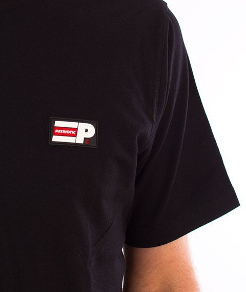 Patriotic-P Flag APL T-shirt Czarny