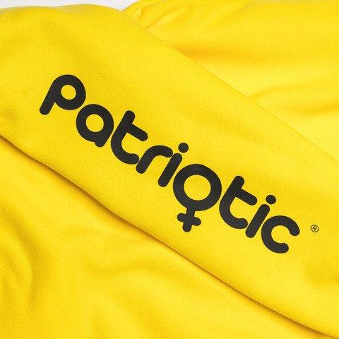 Patriotic PatGirl Bluza Damska z Kapturem Oversize Żółty