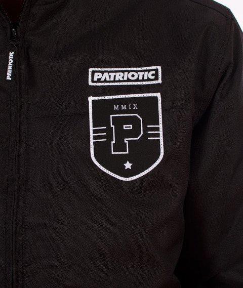 Patriotic-Shield Athletic Hoody Kurtka Zimowa Czarna