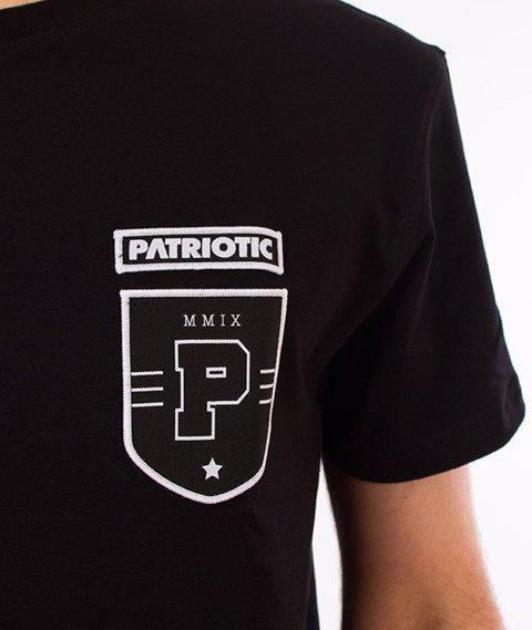 Patriotic-Shield T-shirt Czarny